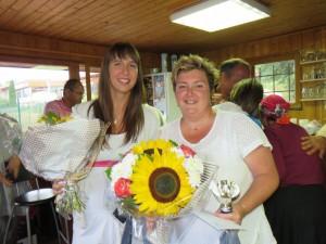 Aline Hessloehl et Myriam  Trouillot, victorieuses chez les dames