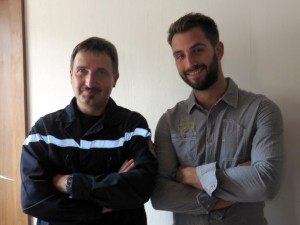Christian Martin et Loan Oliveto