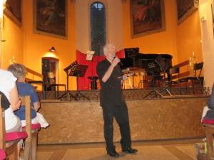 Avant de présenter le concert du Brahms Chamber Ensemble, Eric Lemarquis a annoncé que la programmation 2016 était déjà pratiquement bouclée