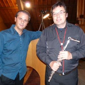 Les deux instrumentistes de la fin de journée