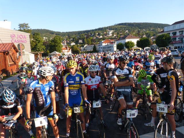 331 cyclistes au départ des 155km