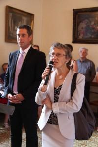 Michèle Scmidt, présidente de l'AVF locale