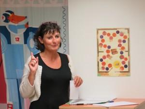 Christelle Jardiné a expliqué aux testeurs et aux testeuses quel était l'objectif de la mission...