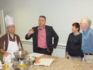 La madeleine version terroir vosgien avec le chef Mickaël