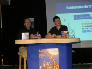 Le directeur de la MCL Stéphane Lepoil et le responsbale de la commission cinéma Loïc Moresi on présenté cette 8éme édition