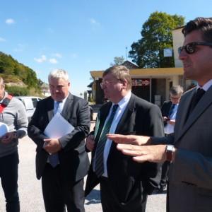 Explication du projet auprès également de la presse alsacienne