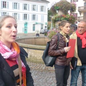 Visite guidé par le duo Vanessa Varvenne, Aline Toussaint accompagné de Pierrot Imbert