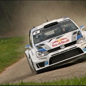 Le champion du monde Sébastien Vosgien était engagé dans le rallye Vosgien en 2011