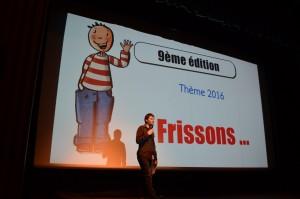 Loïc Moresi a annoncé le thème de l'édition 2016 de Graines des Toiles