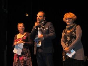 Le conseiller régional Bertrand Masson a marqué cette inauguration de sa présence