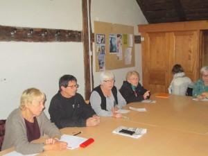 Une réunion animée par la LDH, le Comité Contre le Racisme et le collectif des sans-papiers
