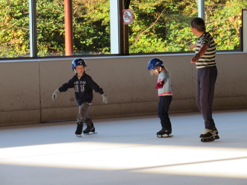 La base, c'est tout simplement d'apprendre à patiner !