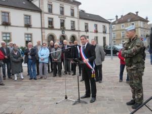 Parrainer la 2éme Compagnie : un plaisir et un honneur pour la Ville de Gérardmer
