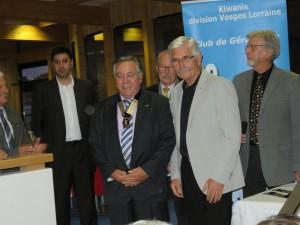 Michel Vannier passe la main à Bernard Krafft