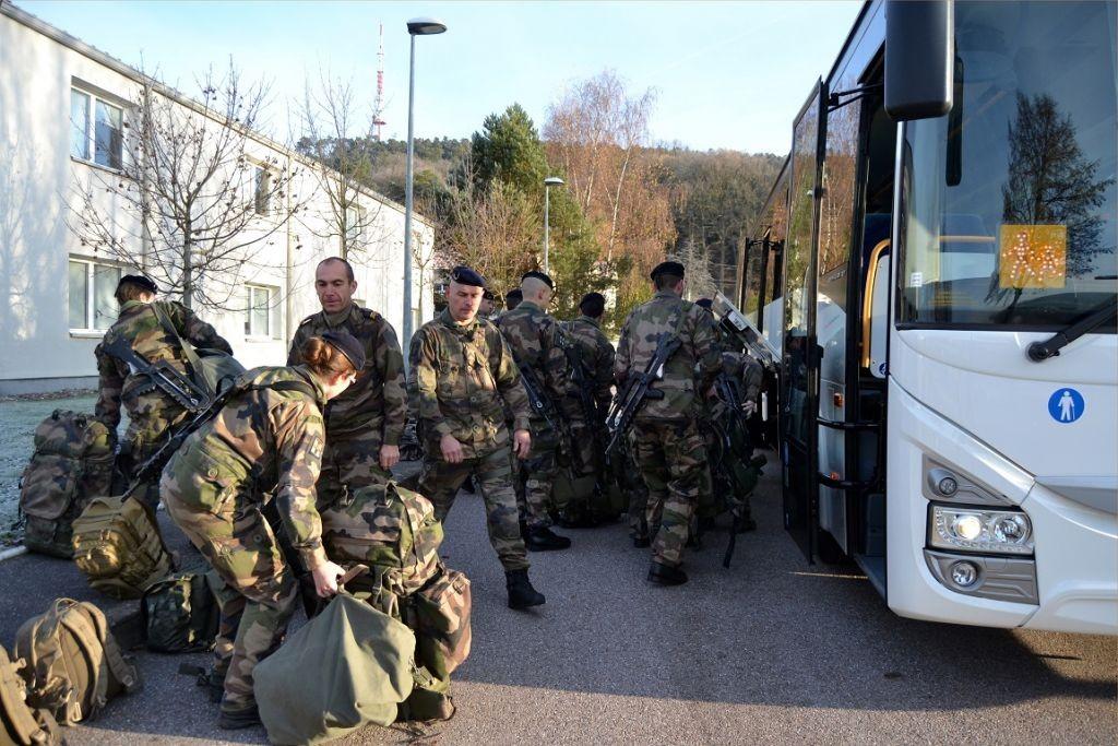 Crédits photos: Camille S./Cellule COM/ 1er régiment de tirailleurs.