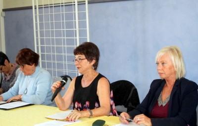 Gisèle Monasse reste présidente de l'association  (Archives)