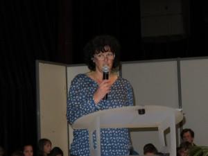 L'adjointe aux sports Nadine Bassière a lancé les réjouissance à l'occasion de laquelle étaient également célébrées les valeurs de la cohésion sociale à travers le sport