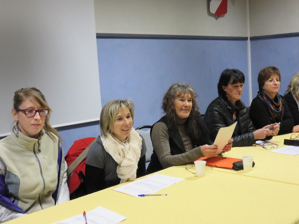 Béatrice Ligonnet a présidé sa dernière assemblée générale, toujours avec le sourire, cela va de soit !