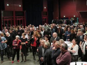 Près de 230 convives avaient répondu présent à cette soirée dont les bénéfices étaient reversés aux oeuvre sociales du club