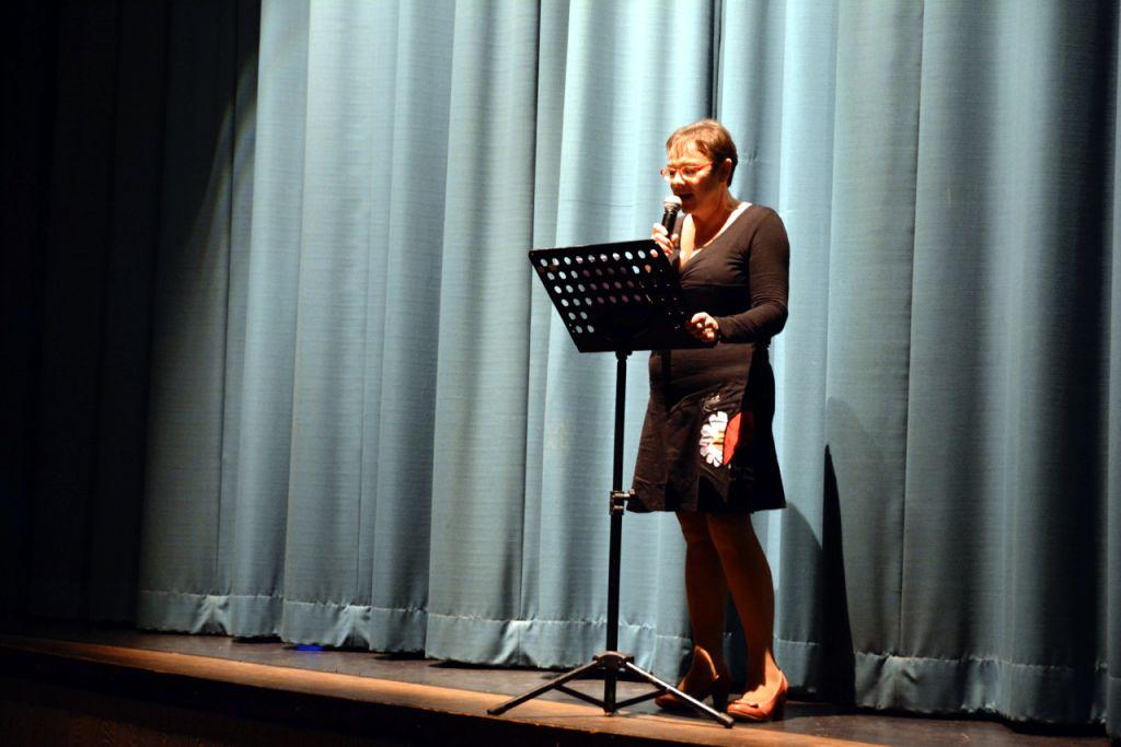 L'adjointe à la Culture Anne Chwaliszewski