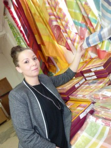 Cindy Vincent coordonnatrice du marché