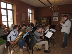 Petite pause musicale avec l'école de musique