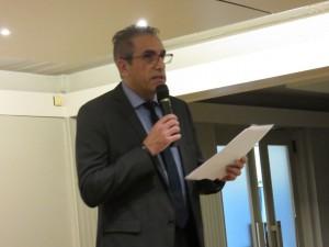Jean-Paul Arbassette, Président de la société Imhoff et Directeur VINCI Énergies France Est.