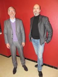 Olivier Brumelot & Rémy Batteault à la MCL de Gérardmer