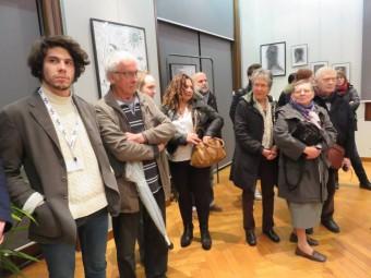 Un vernissage a eu lieu ce jeudi en présence des artistes