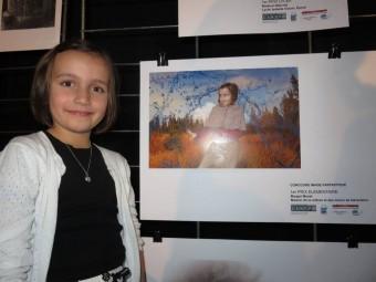 Elève de CE2 à l'école Jean Macé, Margot a réalisé son montage dans le cadre des Nouvelles activités Périscolaires avec la MCL de Gérardmer