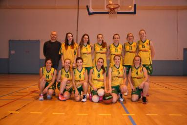 Les jeunes joueuses de l'ASG basket.