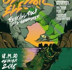 Affiche du festival Gérardm'Electric - 3éme édition