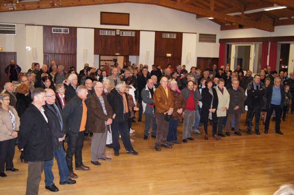 De nombreux invités lors des vœux de la municipalité
