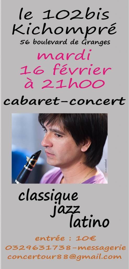 Concert du 16 février au 102 bis Kichompré