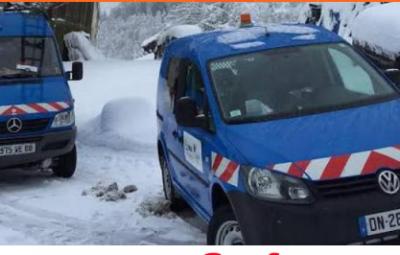 EDF neige hiver