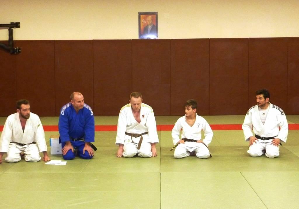 Judo ceintures noires