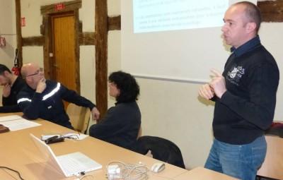 En début d'assemblée Pascal Humbert a fait été de l'évolution de la corporation