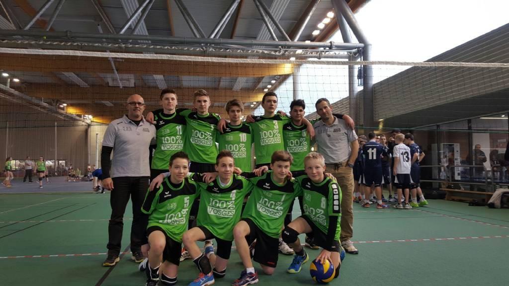 Volley Grand Est jeunes