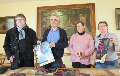 Jacques Odasso (au centre) en compagnie de Ludovic Bérard, Marie-Rose Briot & Anne Chwaliszewski