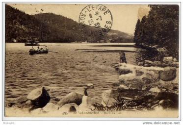 Carte postale Gérardmer