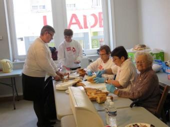 Une équipe de bénévoles toujours prêts à vous accueillir dans de bonnes conditions