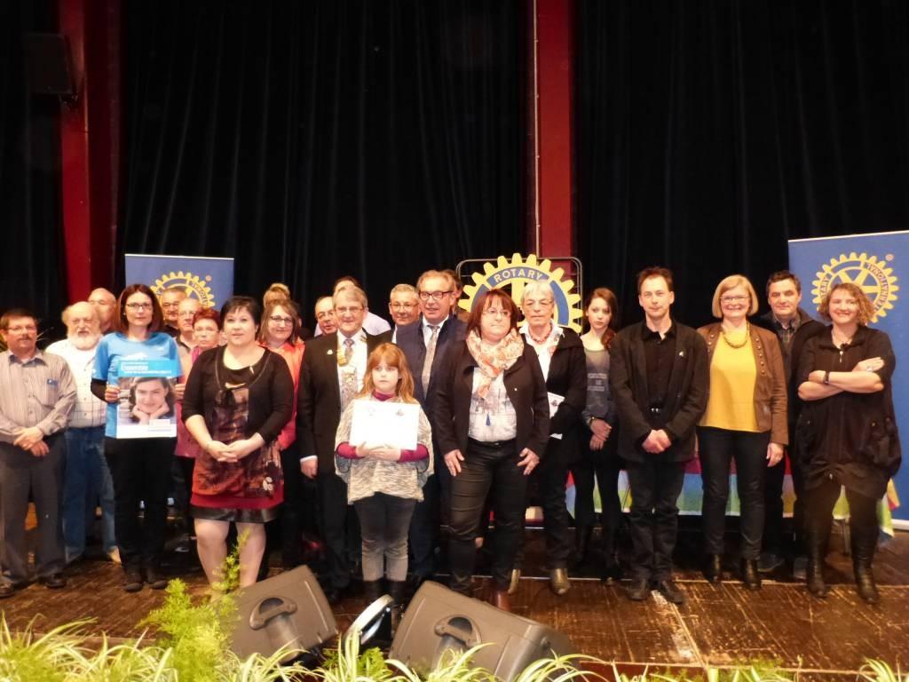 Tous les participants à la soirée des Talents