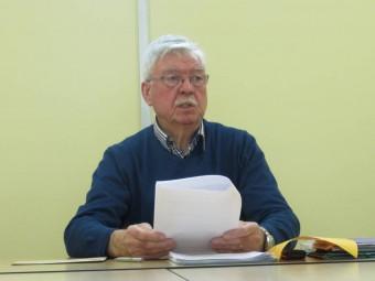 André Debruyne, président fondateur de l'amicale