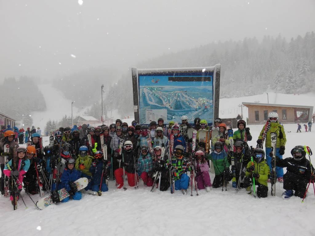 Sortie ski collège Mauselaine