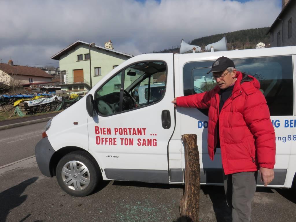 Vandalisme véhicule Donneurs de sang (3)