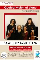 Concert quatuor 02.04.16