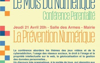 Conférence Parentalité mois du numérique
