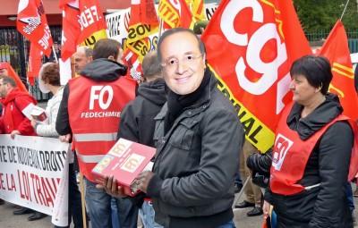 Manifestation loi travail Epinal 2016