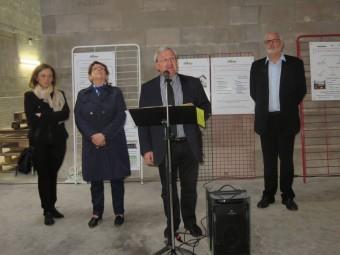 Le président de la Communauté de Communes Gérardmer Monts & Vallée : Hervé Badonnel