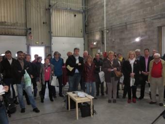 Elus des communes voisines et partenaires de la recyclerie étaient présents à cette inauguration officielle